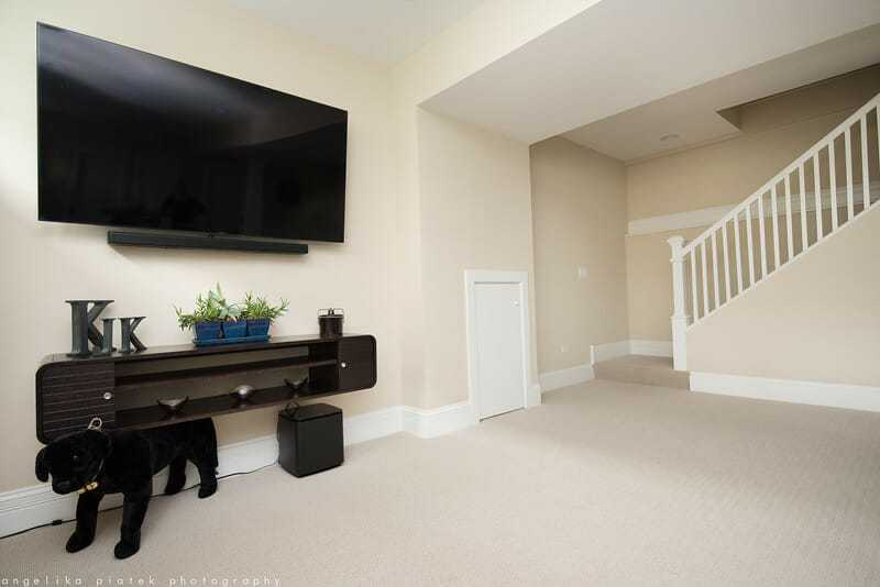 Turn your basement into a comfortable entertaining space