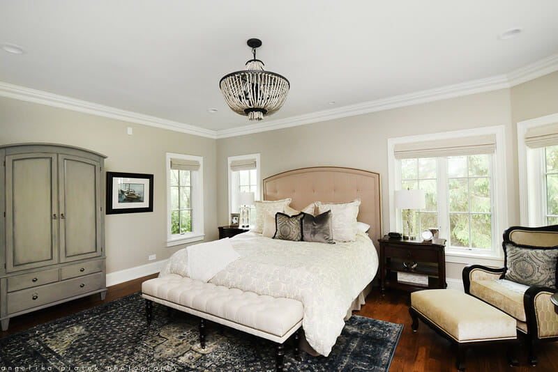 Windows, lighting, and flooring are all key to consider in a bedroom remodel project