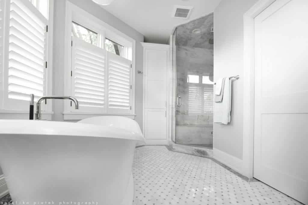 Bathrooms are always a top space to focus on according to home construction trends