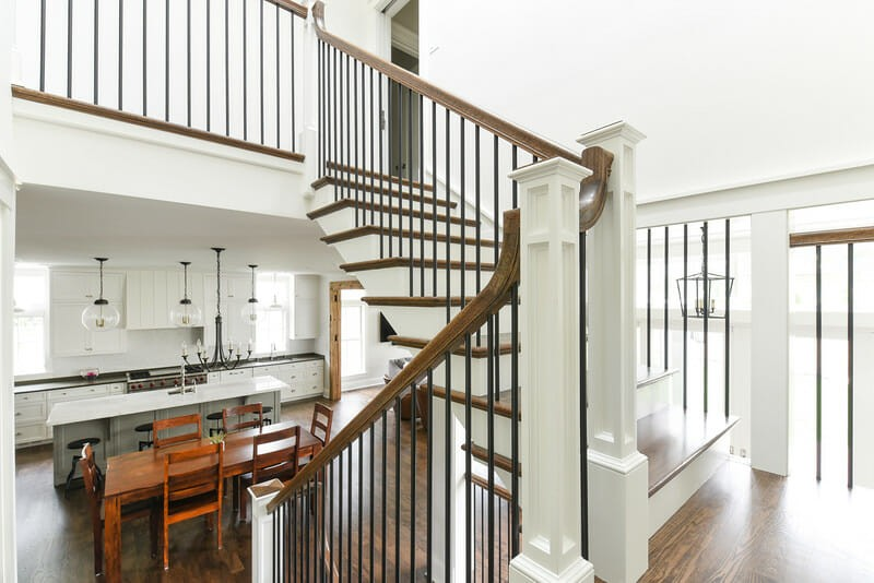 Get an elegantly redesigned staircase by remodeling your home