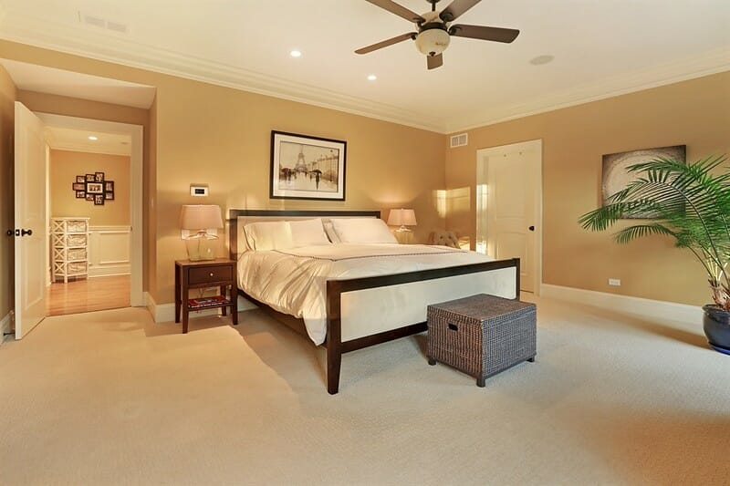 Bedroom Remodeling Company - Spacious Design