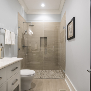 Construction Company from North Shore Chicago Area -  Integrity Construction Consulting, Inc. - Shower & Bathroom Countertop