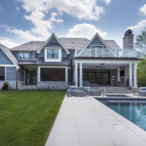 Construction Company from North Shore Chicago Area -  Integrity Construction Consulting, Inc. - Rear Elevation & Pool