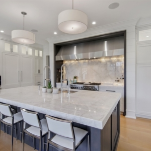 Construction Company from North Shore Chicago Area -  Integrity Construction Consulting, Inc. - Kitchen Island