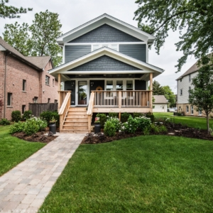 Custom Traditional Home Remodeling - Integrity Construction Consulting, Inc. - Front Elevation