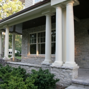 Home Remodeling Company from North Shore Chicago Area - Entrance porch #2