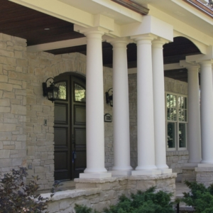 Home Remodeling Company from North Shore Chicago Area - Entrance porch