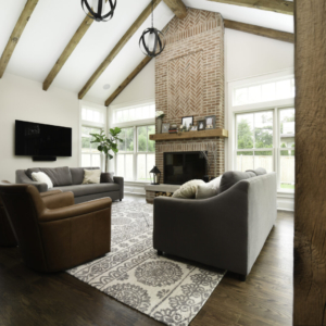 Custom New Construction Home - Integrity Construction Consulting, Inc. - Living Room