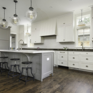 Custom New Construction Home - Integrity Construction Consulting, Inc. - Kitchen Area with Island