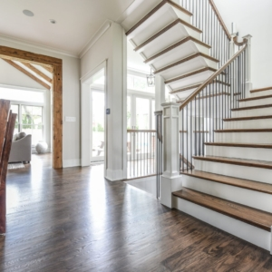 Custom New Construction Home - Integrity Construction Consulting, Inc. - Stairs