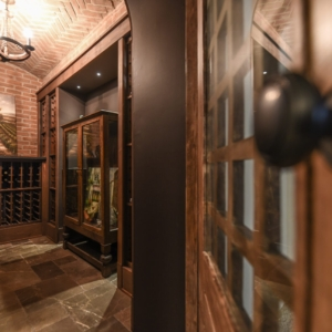 Custom New Construction Home - Integrity Construction Consulting, Inc. - Wine Cellar
