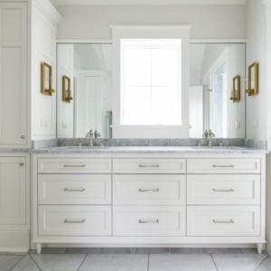 Custom New Construction Home - Integrity Construction Consulting, Inc. - Bathroom Countertop