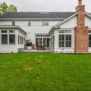 Custom New Construction Home - Integrity Construction Consulting, Inc. - Rear Elevation