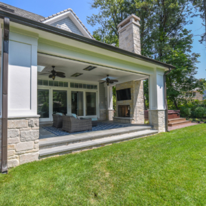 Construction and Remodeling Company from North Shore Chicago Area -  - Integrity Construction Consulting, Inc. - Rear Porch